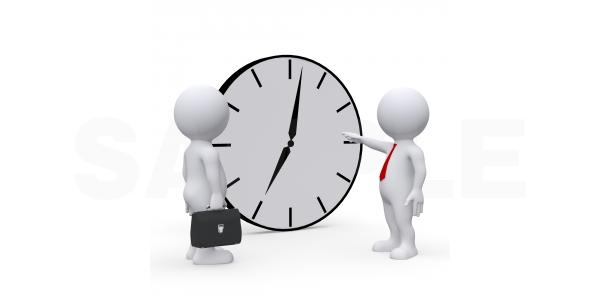 時間厳守を叫ぶ企業でも始業時間にうるさく終了時間に寛大な件